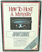 1992 How To Host A Mystery Star Trek The Next Generation Game Decipher Inc No.89 - $8.59