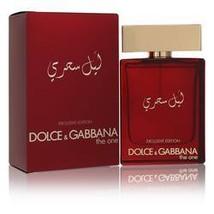 The One Mysterious Night Cologne By Dolce & Gabbana 3.3 oz Eau De Parfum Spray F - $116.13