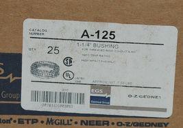 EGS Appleton A-125 1 1/4 inch Bushing Threaded Rigid Conduit Quantity 25 image 4