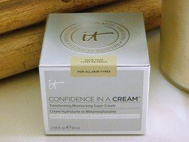 IT Cosmetics Confidence In A Cream Moisturizing Super Cream 2 fl oz New in box - $46.99