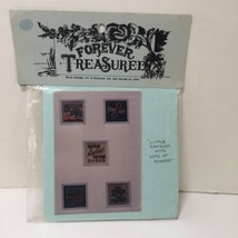 Little Sayings with Lots of Power Cross Stitch Pattern Forever Treasured - $7.84