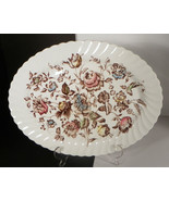 Johnson Brothers STAFFORDSHIRE BOUQUET Large Oval Serving Platter - $21.28