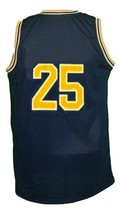 Jun Howard #25 College Basketball Jersey Sewn Navy Blue Any Size image 2
