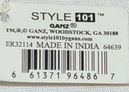Ganz ER32114 Style 101 Cosmetic Bag Toiletries Bag Mauve Color image 6