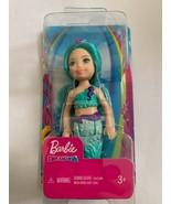 Barbie Dreamtopia Chelsea Mermaid Doll, 6.5 -inch Teal Blue  - $8.90