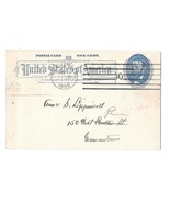 UX11 Postal Card Philadelphia PA 1896 Amercan Machine Cancel Quaker Plai... - $188,79 MXN