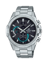 Casio Men's Edifice Silver Tone Bracelet Watch - $126.90