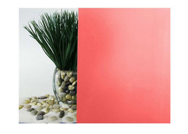 "Cherry Red Frosted Window Film 30"" Wide x 10 ft. Roll - $76.22"