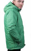 Bench UK Mens Hollis Zip Up Green Hooded Puffy Winter Jacket Coat NWT image 4