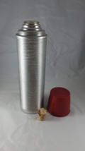 Vintage The American Thermos Vacuum Bottle Model 2484 USA Cork Topper - $18.46