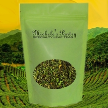 Raspberry Bulk Green Tea-1/2 Lb Loose Leaf Tea - $13.00