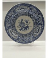 """Spode Blue Room Collection Blue & White Dinner Plate 10-1/2"""" """"FLORAL"""" Excellent - $19.76"""