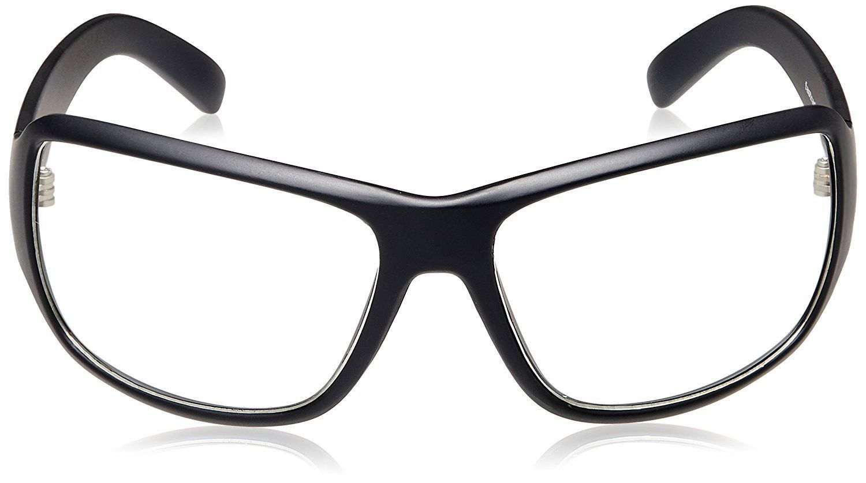 Fastrack Springers Wrap Sunglasses (P294WH1|63|Transparent)