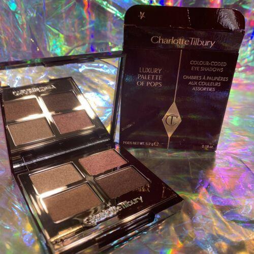 NEW IN BOX Charlotte Tilbury Pillow Talk Luxury Eyeshadow Palette Quad *NICE!*