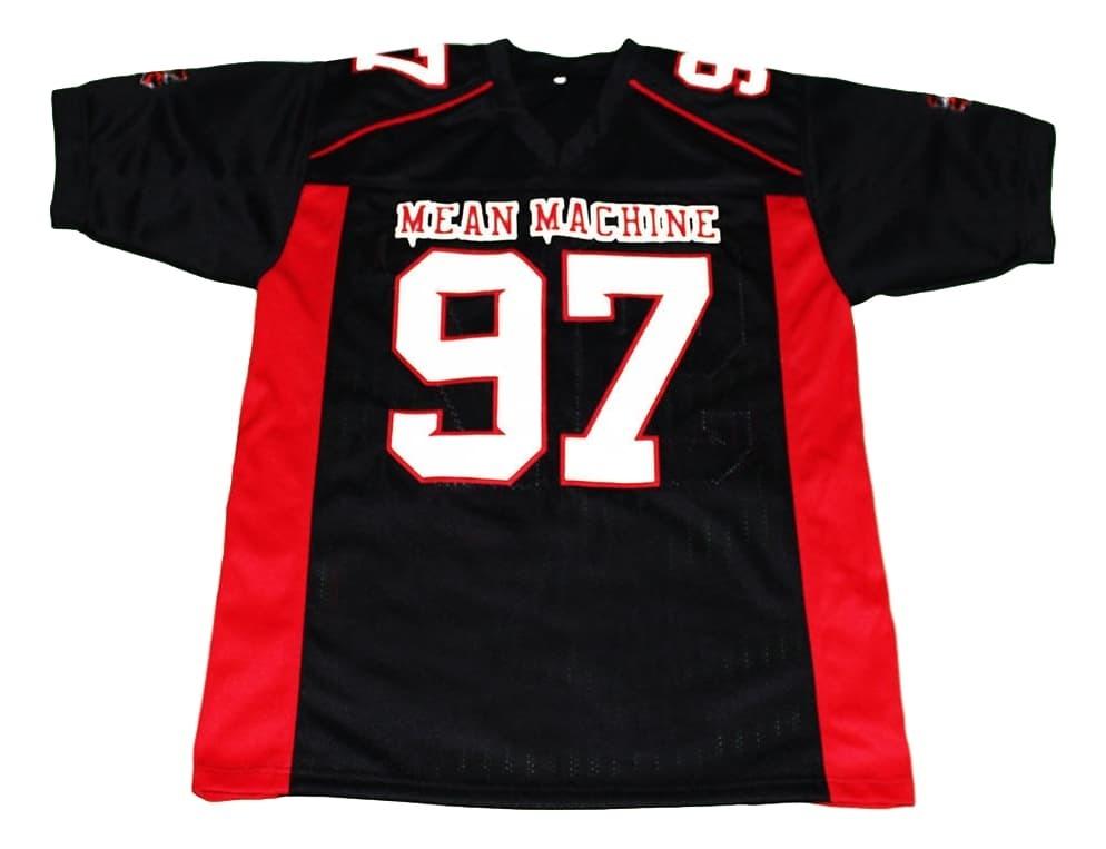 Switowski #97 Mean Machine Longest Yard Movie Football Jersey Black Any Size