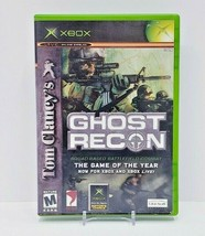 Tom Clancy's Ghost Recon (Microsoft Xbox, 2002) Complete & Tested! - $7.70