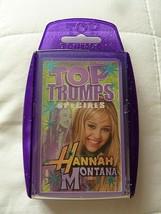 Hannah Montana (Miley Cyrus) Top Trumps Specials Card Game - $10.79