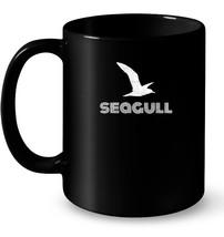 Seagull Silhouette Ceramic Mug Cute Sea Bird Watcher Gifts - $13.99+