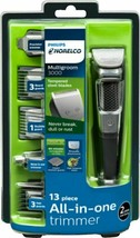 Philips Norelco 3000 All-in-one Multigroom Hair Trimmer with 13 Pc MG375... - $29.45