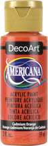 Americana Acrylic Paint 2oz-Cadmium Orange - Transparent - $5.68
