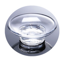 round glass soap dish replacement,Essentials Soap Dish… - $6.80