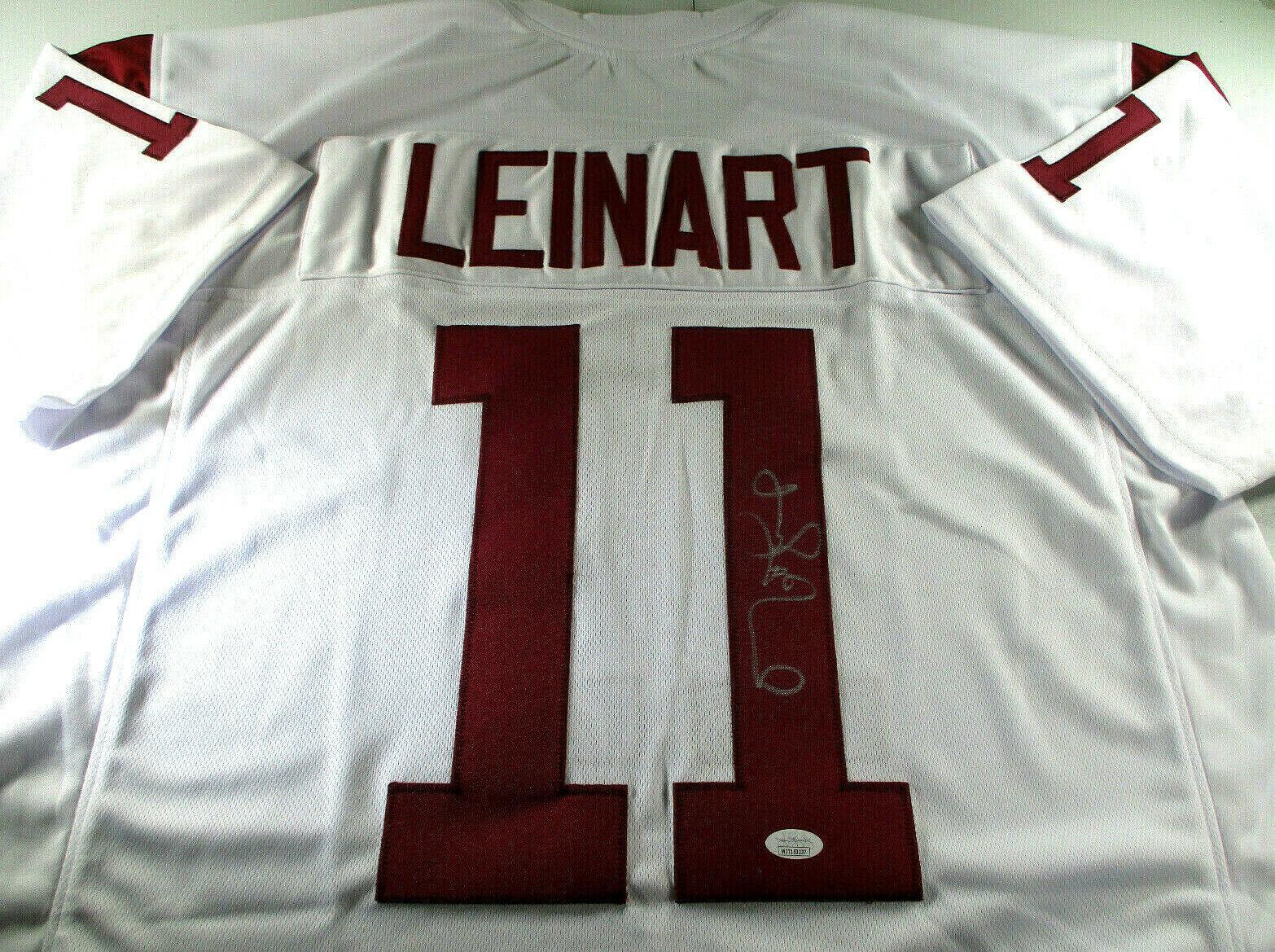 MATT LEINART / NCAA HALL OF FAME / AUTOGRAPHED USC TROJANS CUSTOM JERSEY / JSA