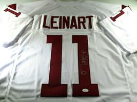 MATT LEINART / NCAA HALL OF FAME / AUTOGRAPHED USC TROJANS CUSTOM JERSEY / JSA image 1