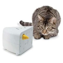 PetSafe® Cheese Cat Toy Interactive Hide and Seek Mouse Hands Free Automatic - $29.05