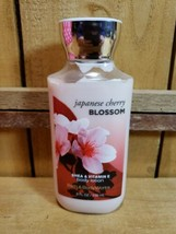 Bath and Body Works Japanese Cherry Blossom 8oz Shea  Body Lotion 90% Full - $8.12