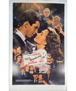 "RARE - Frank Capra's ""It's a Wonderful Life"" Reproduction GOLD LEAF Movi... - $36.86"
