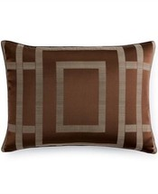 New Hotel Collection Standard Pillowsham Sham Savoy Espresso Brown - $48.95