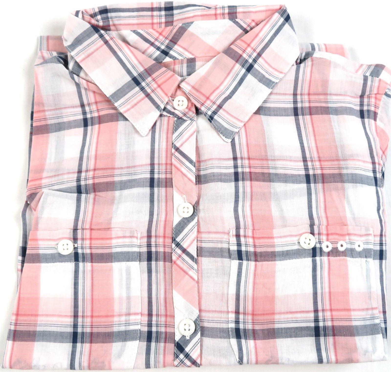 Columbia PFG Women's Shirt 2-pocket Long Sleeve Woven Button Down Melonade