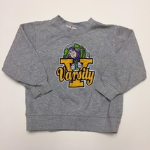 Disney Store Buzz Lightyear Varsity Sweatshirt Childs Size 4 XS Gray Toy... - $18.80