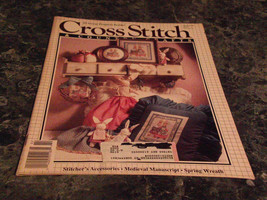 Cross Stitch & Country Crafts Magazine January February 1990 Christmas C... - $2.69
