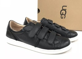 Ugg Australia Alix Leather Sneaker Tennis Shoe 1092530 Black Women's Shoes - $79.99