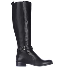 Michael Kors Arley Riding Leather Boot Black $325 Size 5.5 - $139.99