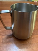 Breville Milk Frother Pitcher Stainless Steel Cup Frothing Steaming/ Pre... - $15.00