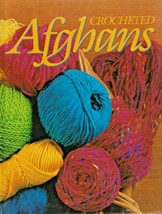 "Hard Covered Book ""Crocheted Afghans"" Oxmoor House - Gently Used - $18.00"