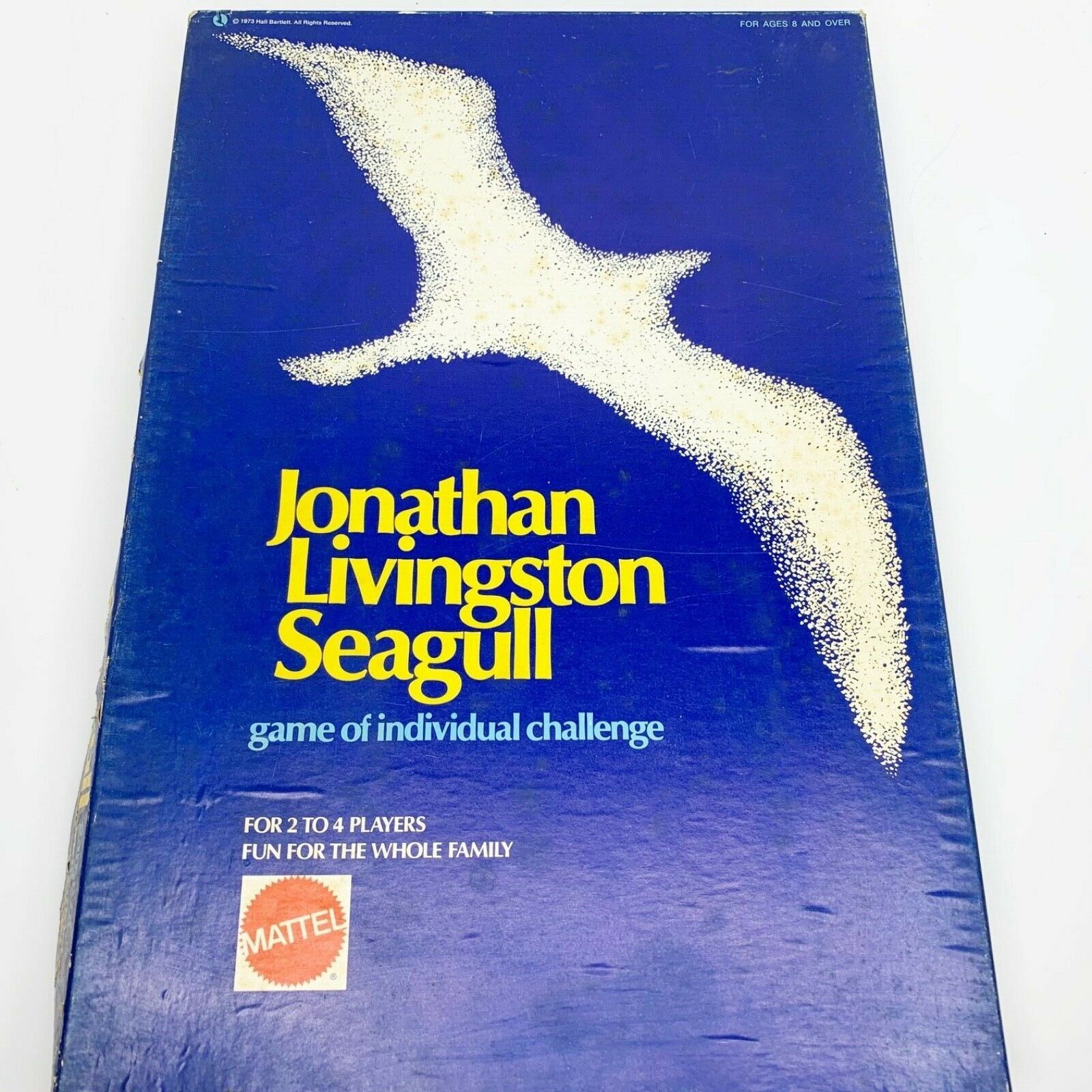 Primary image for Jonathan Livingston Seagull Board Game 1973 Vintage Mattel New Age Bach RARE!!