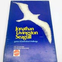 Jonathan Livingston Seagull Board Game 1973 Vintage Mattel New Age Bach RARE!! - $72.38