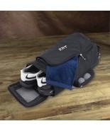 Personalized Golf Shoe Bag Black Color Engraved Shoe Bag Golf Bowling Wo... - $27.62