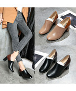 2019 Women's Pumps New Fashion Spring Summer Shoes High Heel Waterproof ... - $19.54+