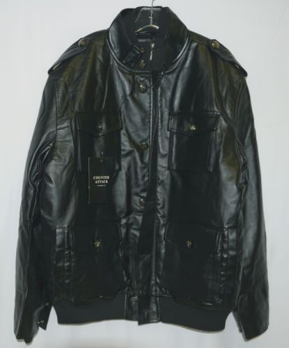 Counter Attack MJ018J Mens Jacket Color Black Size Extra Large