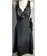 White House Black Market Cocktail Party Little Black Dress 4 Lined Side ... - $28.13