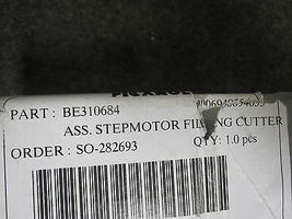 PICANOL BE310684 STEP MOTOR FITTING CUTTER image 3