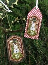 Snowman Tag Kit cross stitch kit by Shepherd's Bush     - $8.00