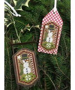 Snowman Tag Kit cross stitch kit by Shepherd's Bush     - $8.00