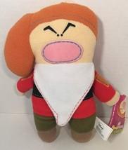 Disney Grumpy Snow White Dwarf Pook A Looz fleece plush doll stuffed animal - $7.91