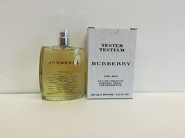 BURBERRY BY BURBERRY TESTER FOR MEN EDT SPRAY 3.3 OZ / 100 ML - $35.64