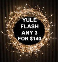 SUN FLASH DEAL PICK ANY 3 FOR $140 BEST OFFERS DISCOUNT MAGICK  - $56.00
